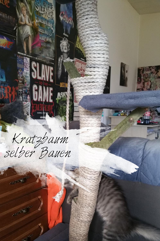 katzenfreude/diy) kratzbaum -
