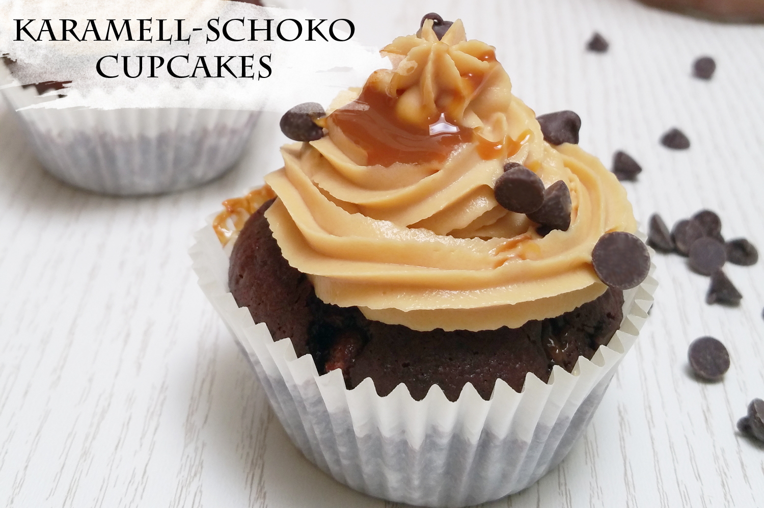 recipe karamell schoko cupcakes. Black Bedroom Furniture Sets. Home Design Ideas