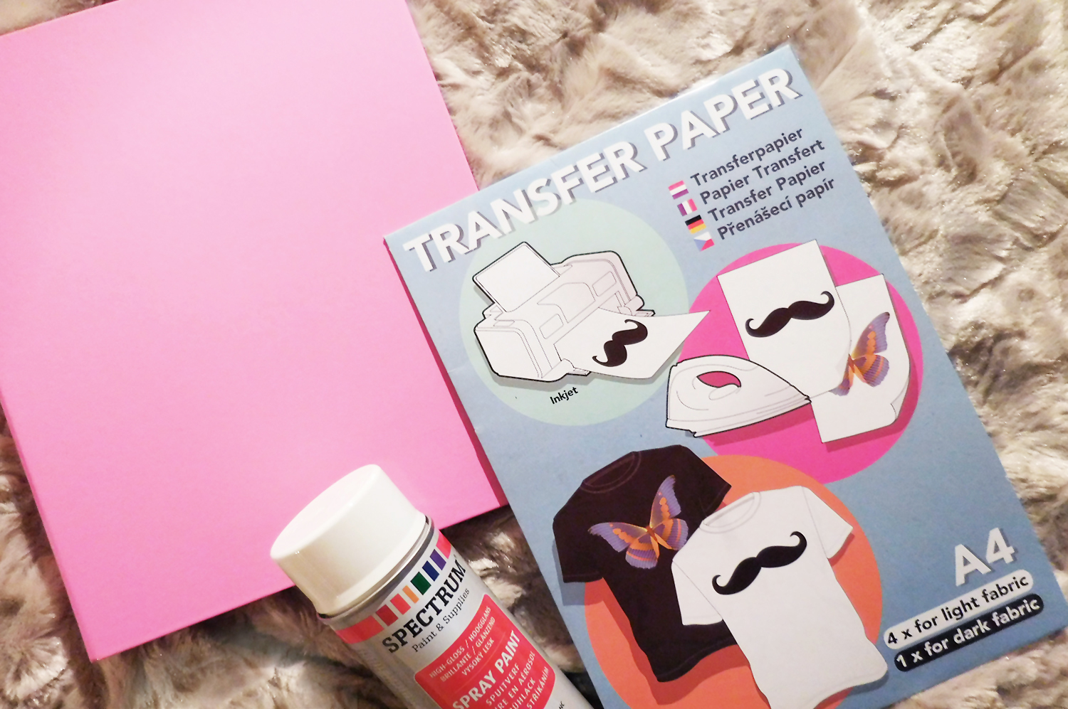 Haul action for Transfer papier action