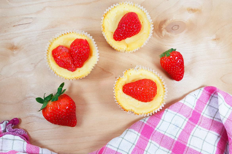 käsekuchen muffins rezept